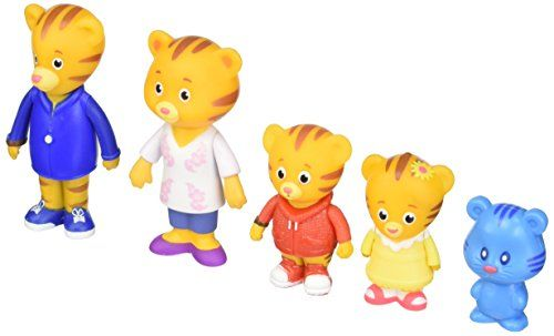 Daniel Tiger/'s Neighborhood Friends Family Figure 5 Pack