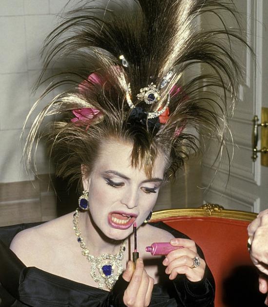 Princess Gloria Von Thurn Und Taxis Princess Tnt At The April In Paris Ball Waldorf Astoria Hotel 1987 Gloria Royal Jewelry Sunday Style