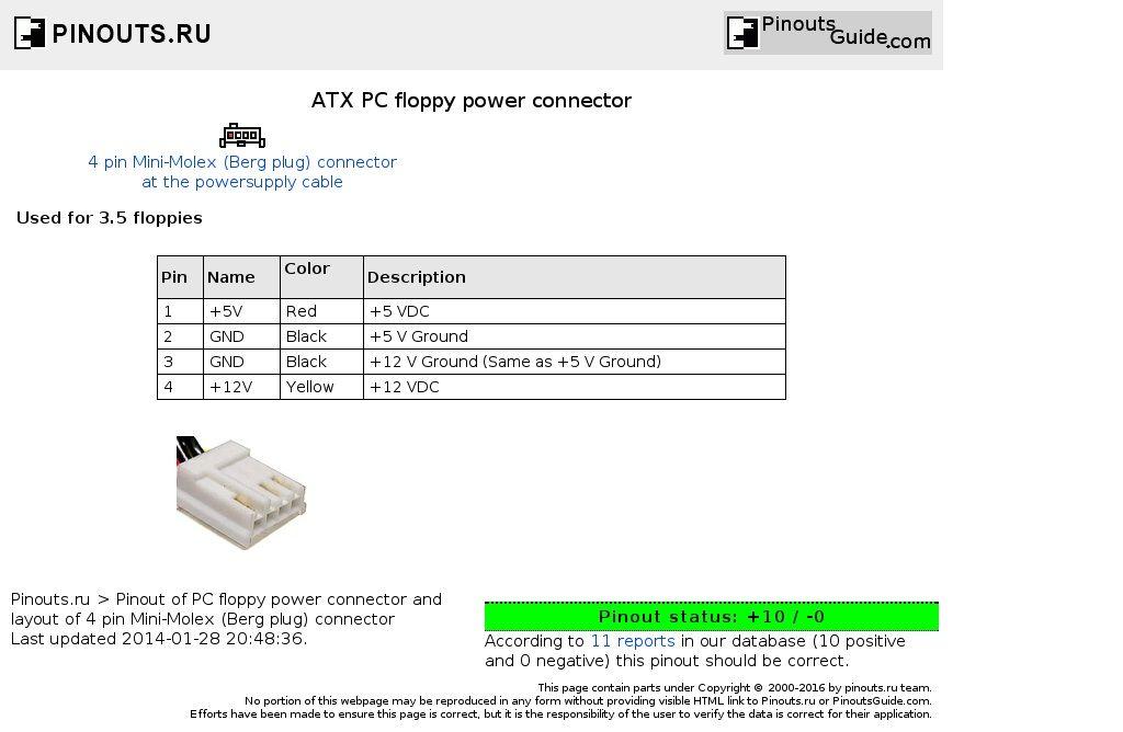 Afbeeldingsresultaat voor atx connector pinout | Electrical ...