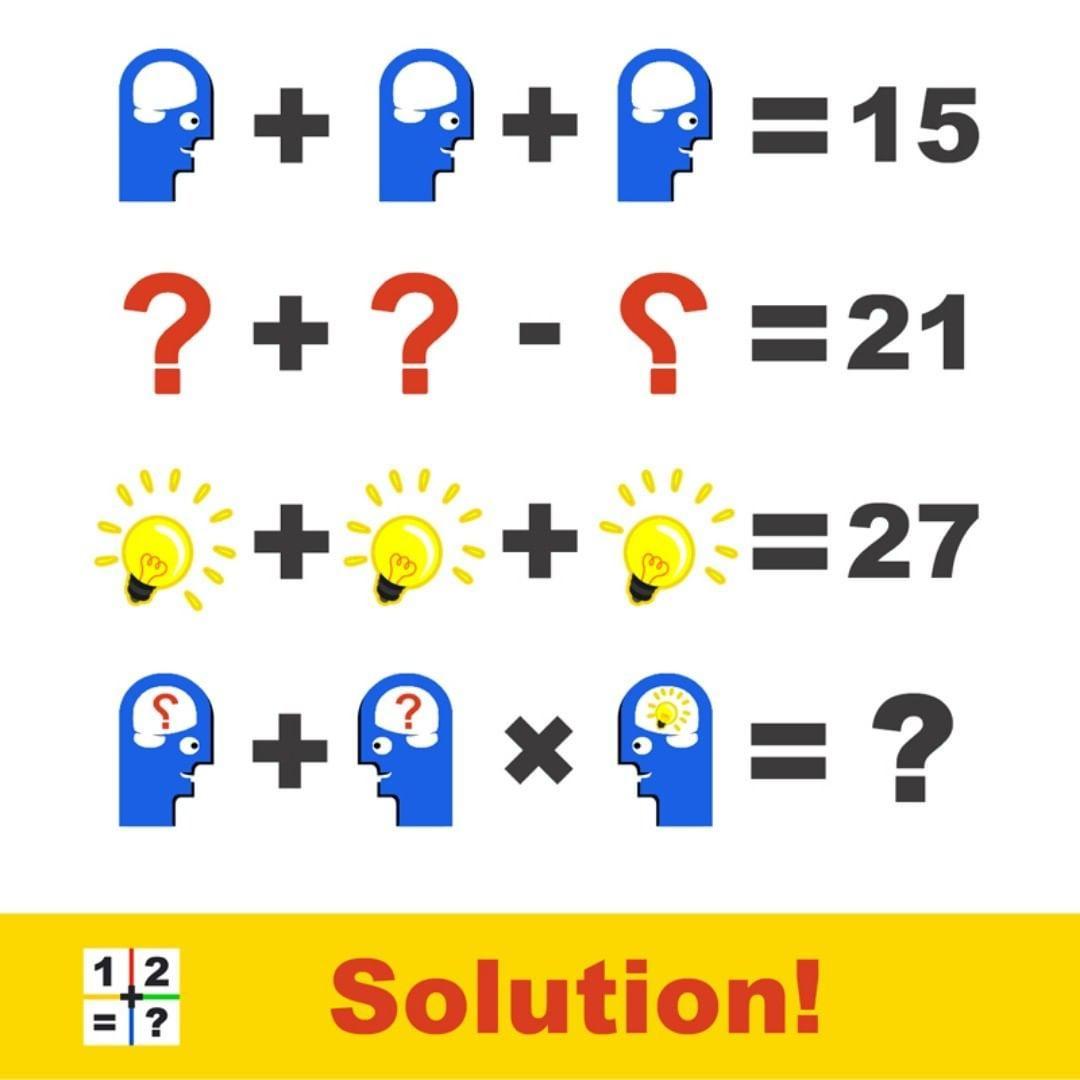 Vedic Math Puzzle Math School Maths Puzzles Math [ 1080 x 1080 Pixel ]