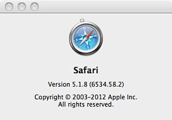 Apple sneaks Safari update into Snow Leopard (With images