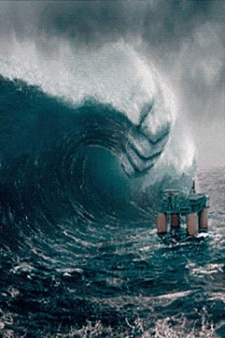 1000  images about SCARY HUGE WAVES on Pinterest