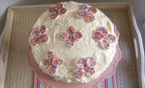 Marshmallow cake Birthday cakes Cake and Easy