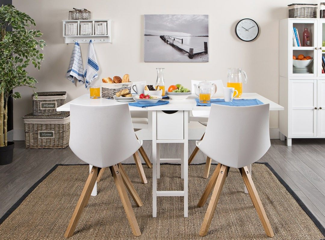 SNEKKERSTEN Table + 4 ORE Chairs | Dining Set | JYSK Canada | Lake ...
