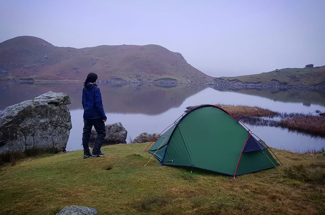 Wild Camping By Easedale Tarn Lake District Wild Camp Lake District Camping