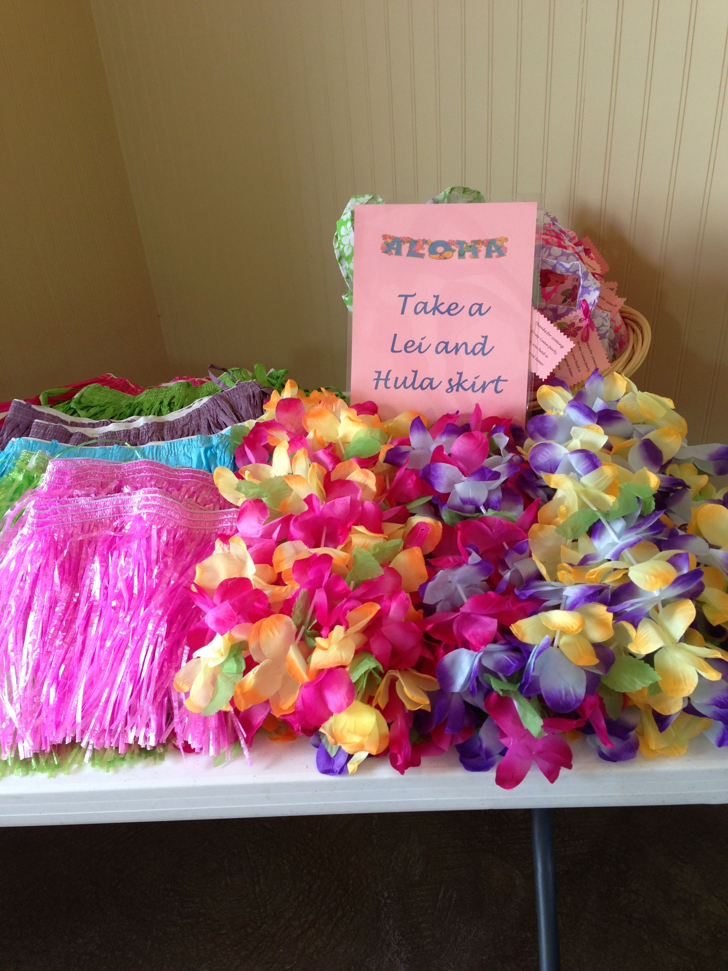 Small Of Hawaiian Theme Party