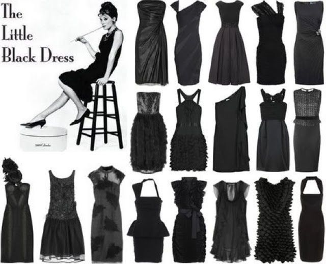 Coco Chanel Little Black Dresses