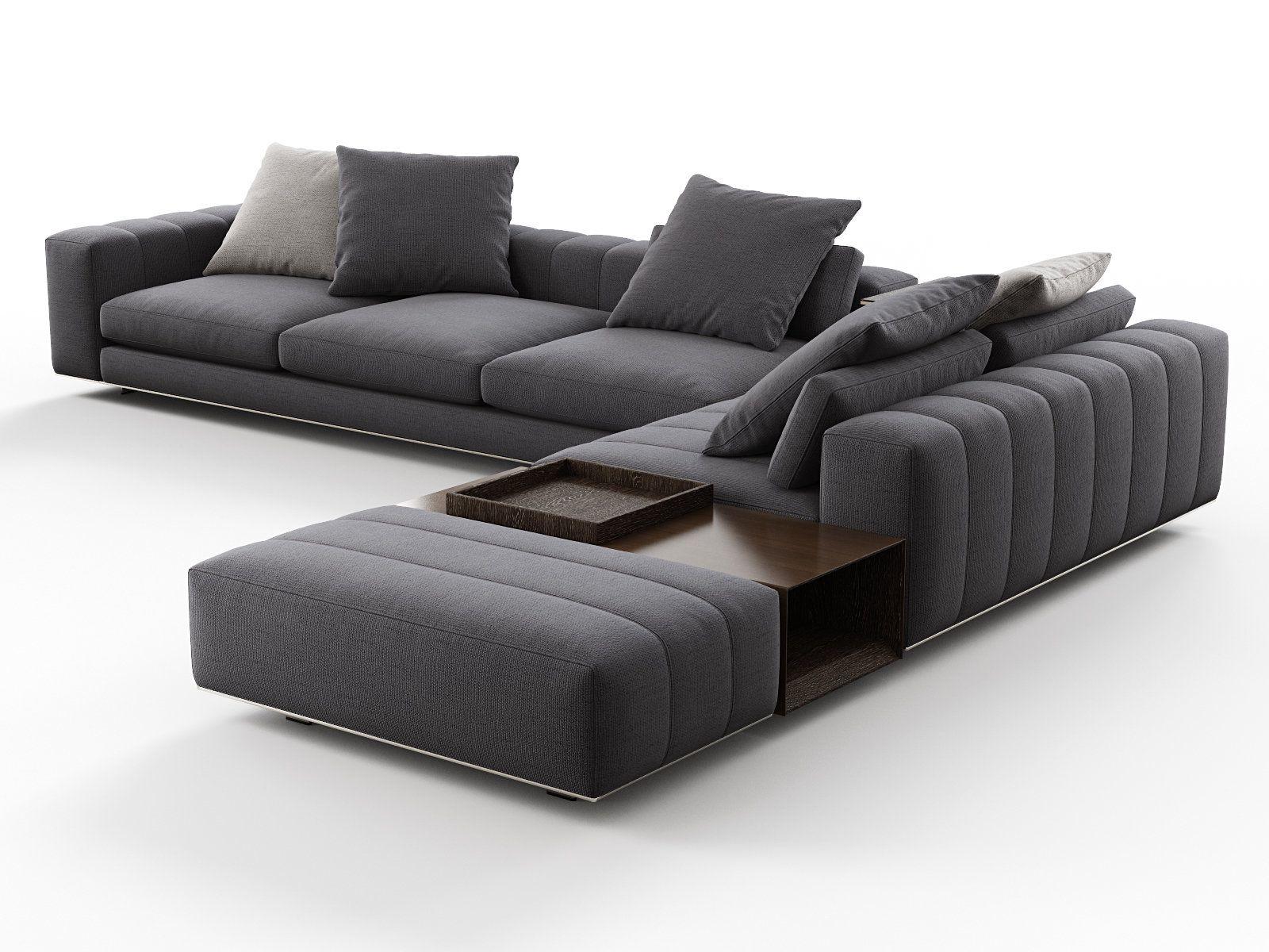 Freeman Corner Sofa System N 3d Model By Design Connected Corner Sofa Design Living Room Sofa Set Modern Sofa Designs