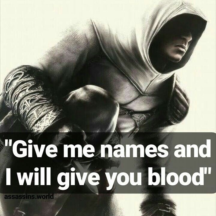 Creed Quotes Prepossessing Assassins.world  Instagram  Assassins Creed  Quotes  Altair Bun . Review