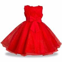 Baby Tutu Princess Dress for Girl Formal Flower Birthday Party Girl Dress Baby Girl's Christmas Clothes 2 4 6 8 10 Years #babygirlpartydresses