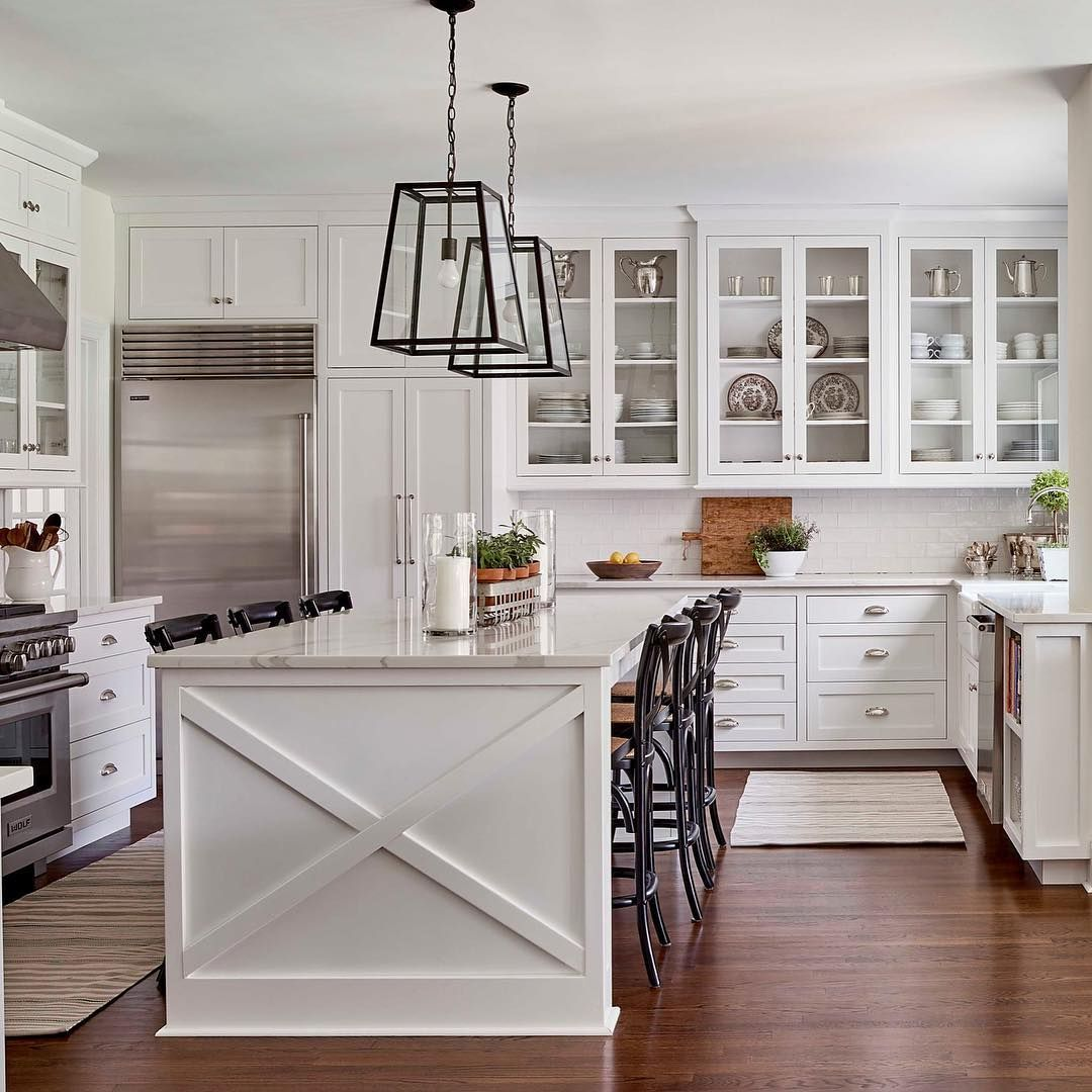 Beau Designer @allywhalendesign Fearlessly Knocked Down Walls To Open Up The  Space And Created A Classic Kitchen Thatu0027s Perfect For Entertaining!
