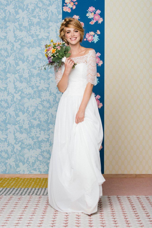 Brautkleid inspiriert vom 20er Jahre Stil - Vintage Kleid ...