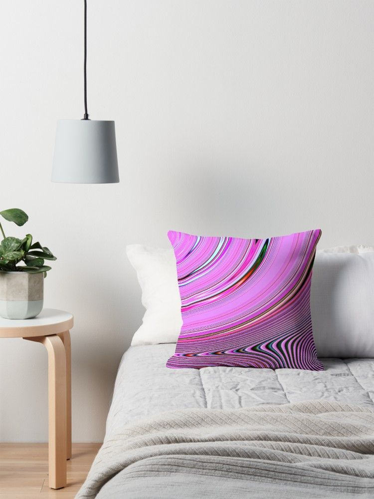 Abstract Creation by Robert S. Lee Throw Pillow by robertsleeart