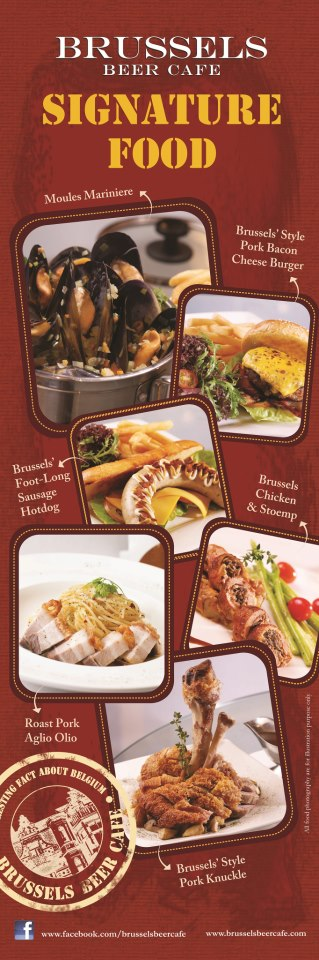 Have You Tried Out Brussels Beer Cafe S Mouth Watering Signature Food Gurney Paragon Mall Food Pork Bacon Pork Roast