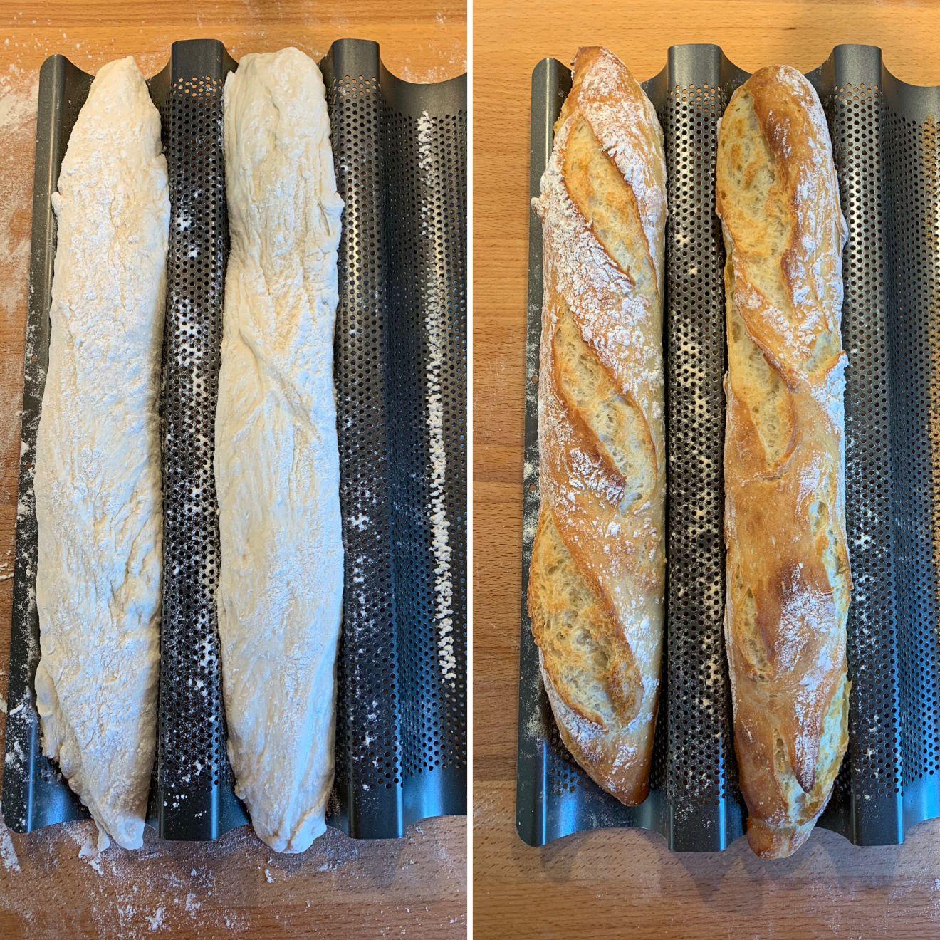 Einfaches Baguettebrot…magisches Baguette