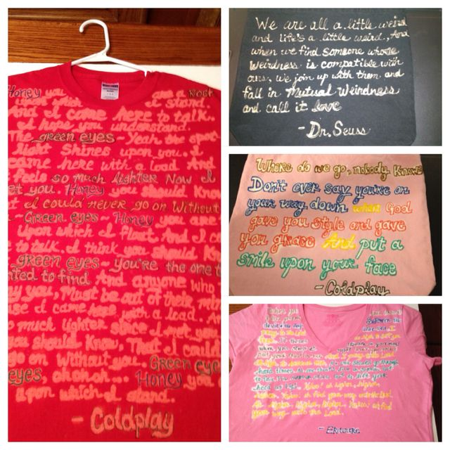 Clorox Bleach Pen Lyrics Fabric Markers Pinterest Inspired But
