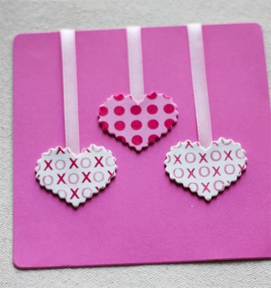 make your own valentine's day cards | cards and simple projects, Ideas