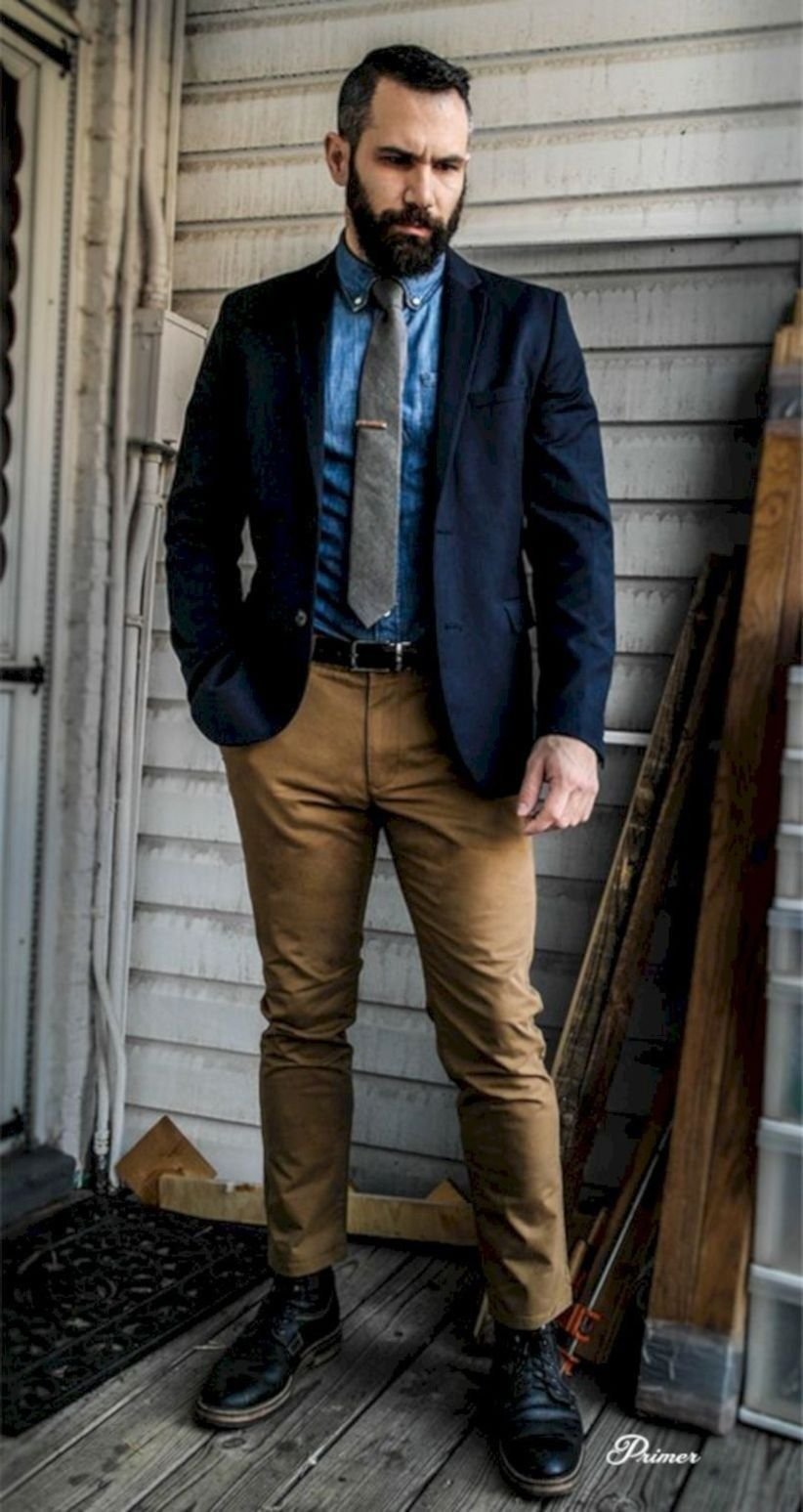 Amazing And Cozy Casual Business Outfit For Men 35 | Mens ...