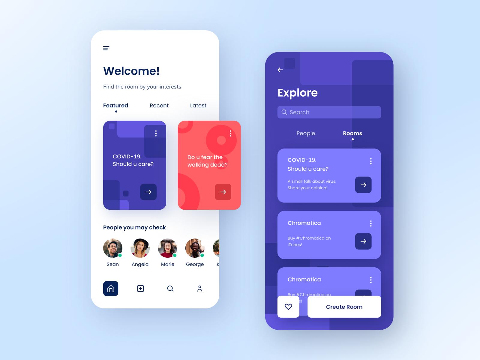 Social Networking Mobile App Ios App Design Mobile App Ios App Design Inspiration