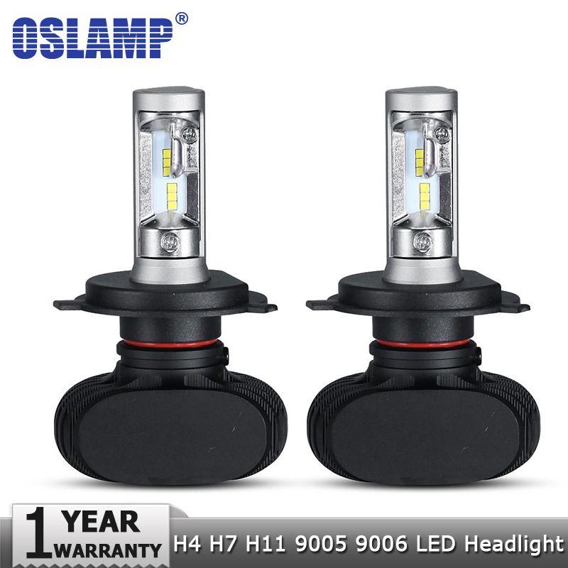 2Pcs H4 9003 Cree Led Light Bulb 50W Car Fog Driving DRL Bulb  Headlight Toyota