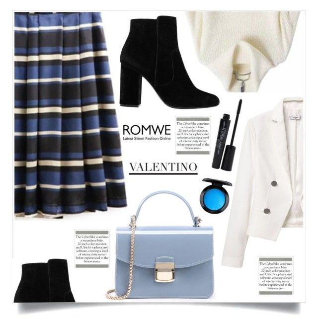 """""""Bez naslova #1519"""" by violet-peach ❤ liked on Polyvore featuring MANGO, Smashbox and MAC Cosmetics"""