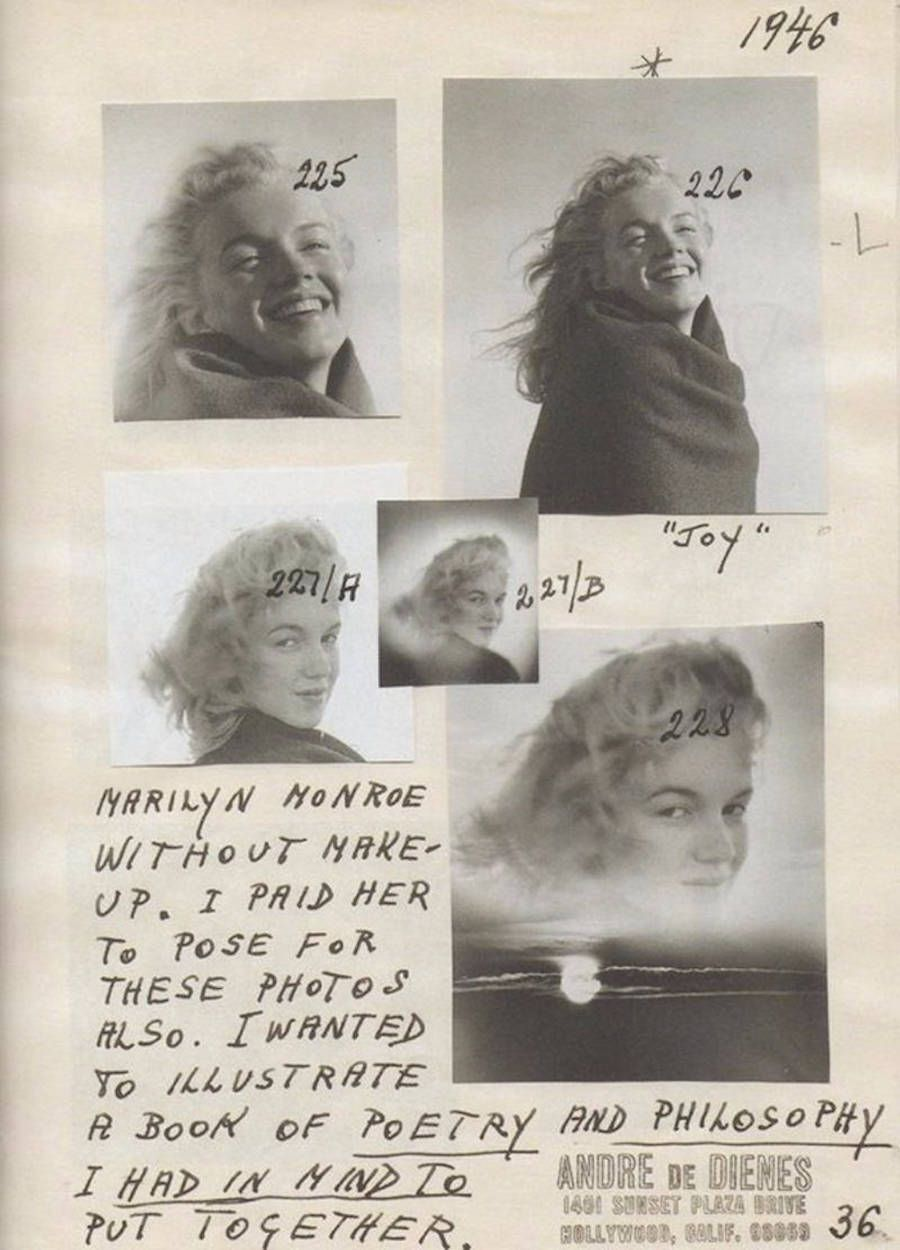20 years-old Marilyn Monroe in Malibu Beach
