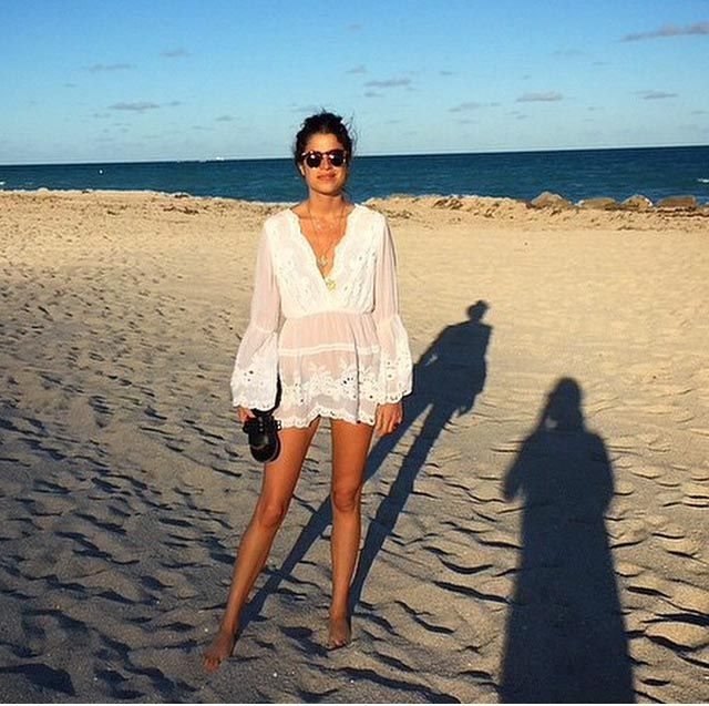 Man Repeller Leandra Medine Beach Dressing to perfection Holiday