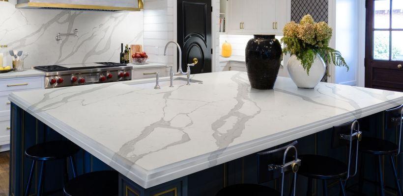 Calacatta Luccia Q Quartz Artistic Granite And Quartz