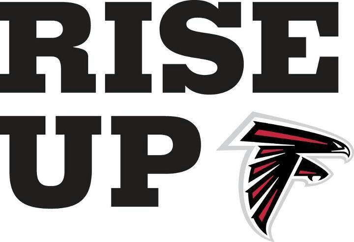 Rise Up Atlanta Falcons Logo Atlanta Falcons Falcons