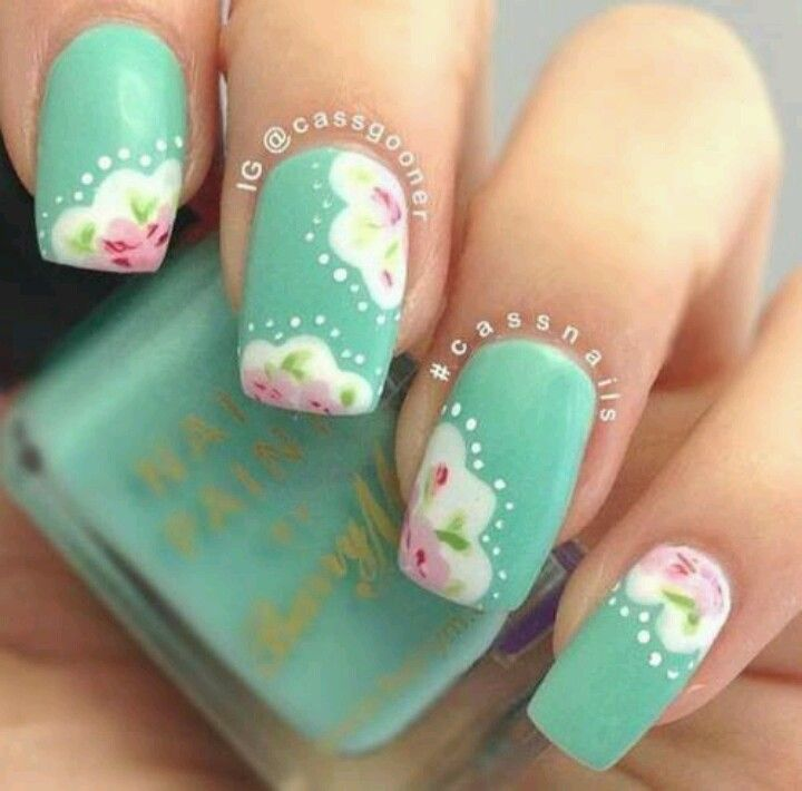 Nail Arts By Rozemist Cath Kidston Vintage Inspired: Almost Cath Kidston-esque