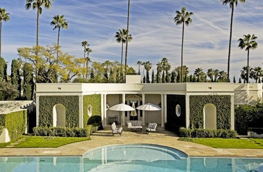 The Perfect Pool House By John Elgin Woolf Beverly Hills