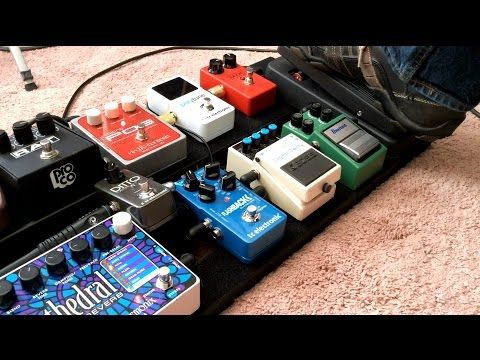 ae07aea3259 What s On Tim Pierce s Session Pedalboard And How He Get s Sounds - YouTube