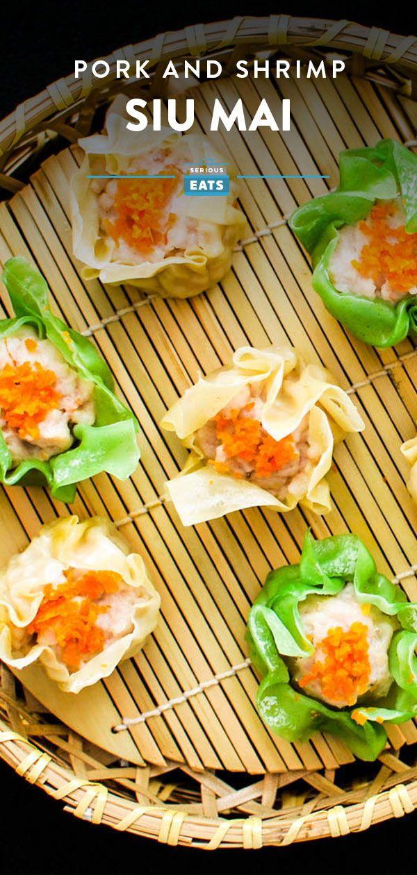 Pork and Shrimp Siu Mai (Steamed Chinese Dumplings ...