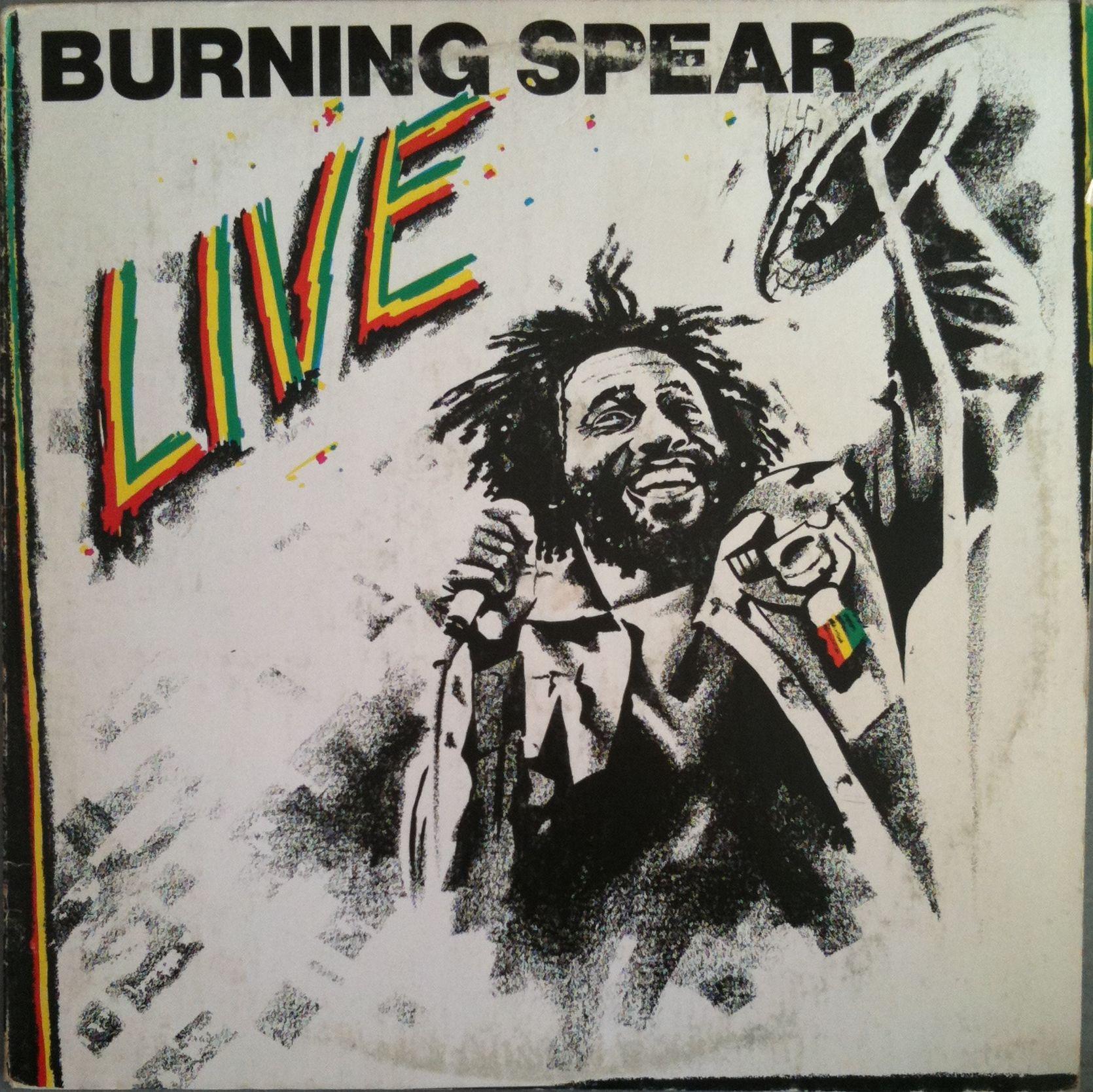 Burning Spear Live Burning Spear Reggae Music Songs Reggae