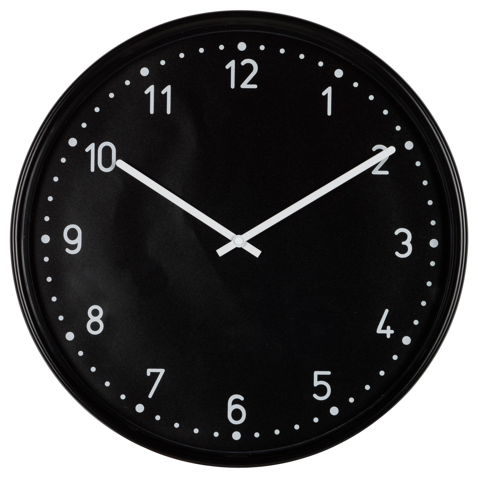 Bondis Wall Clock Black Wall Clock Ikea Wall Clock Cottage Decor Farmhouse