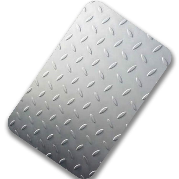 Checkered Stainless Steel Sheet