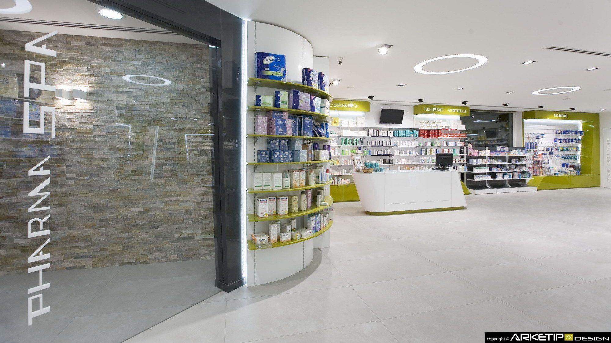 Farmacia Verghera Samarate Va By Arketipo Design Milano Italy  # Kohl Muebles Farmacia