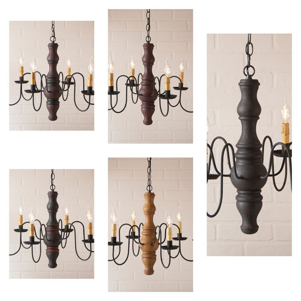 New Country Primitive Wood Chandelier 6 Arm Nice Ceiling Hanging Light Fixture Handmade Countr Hanging Light Fixtures Wood Chandelier Hanging Ceiling Lights