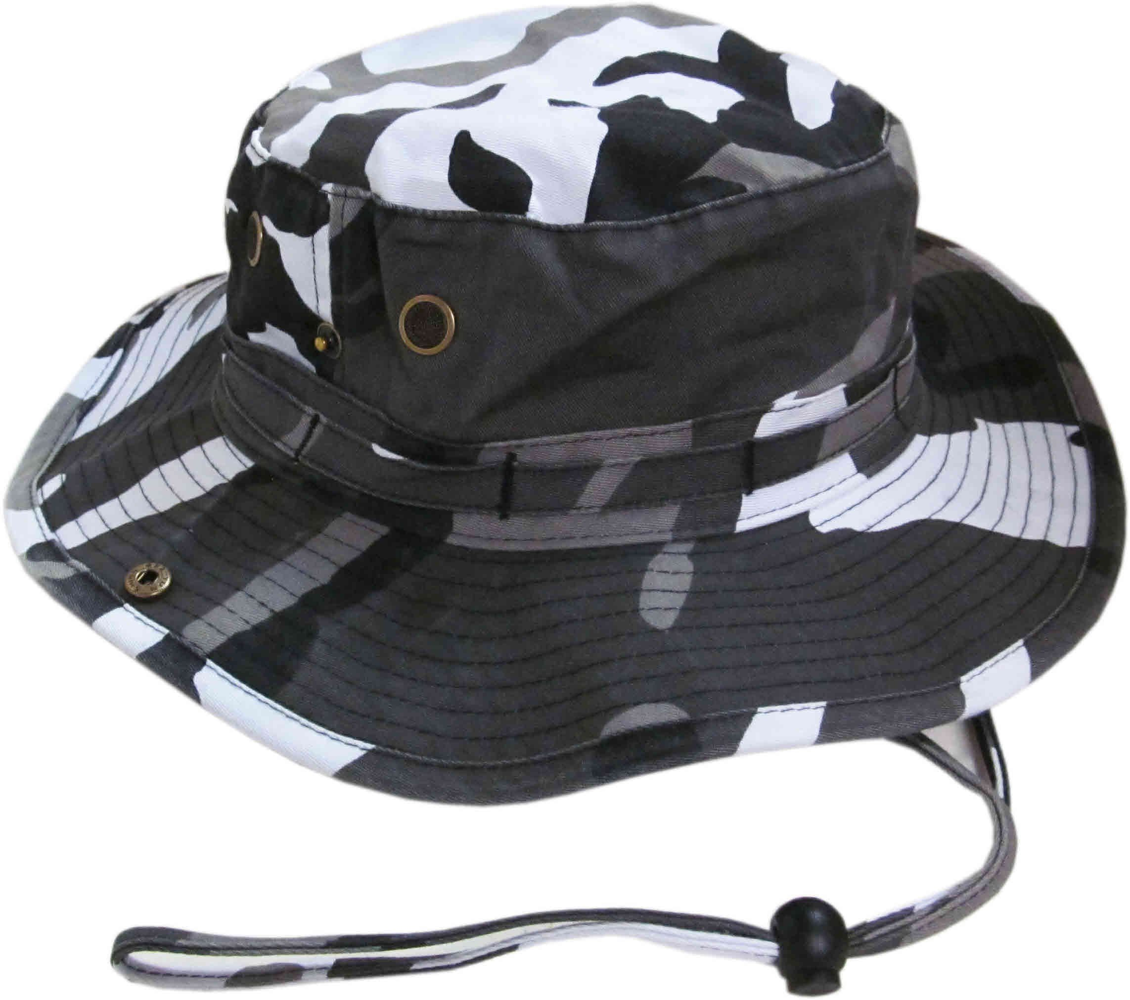 2a8df7581750f Amazon.com  KBETHOS Signature Boonie Hat Cap - CITI CAMOUFLAGE  Clothing