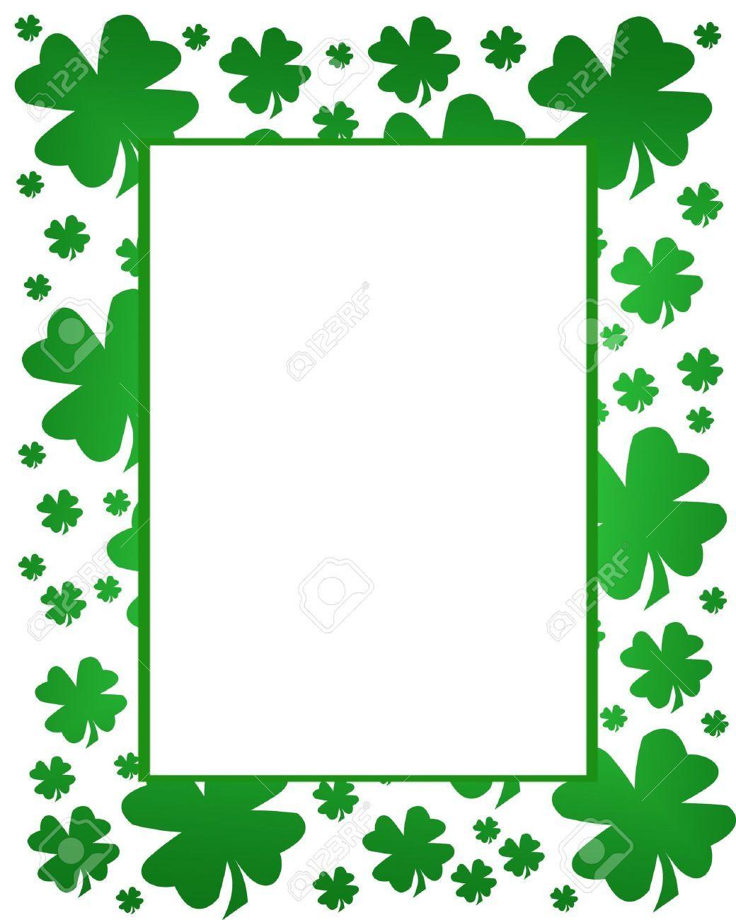 Happy St Patricks Day Border - CTP2679 | Creative Teaching ... |St Patricks Border