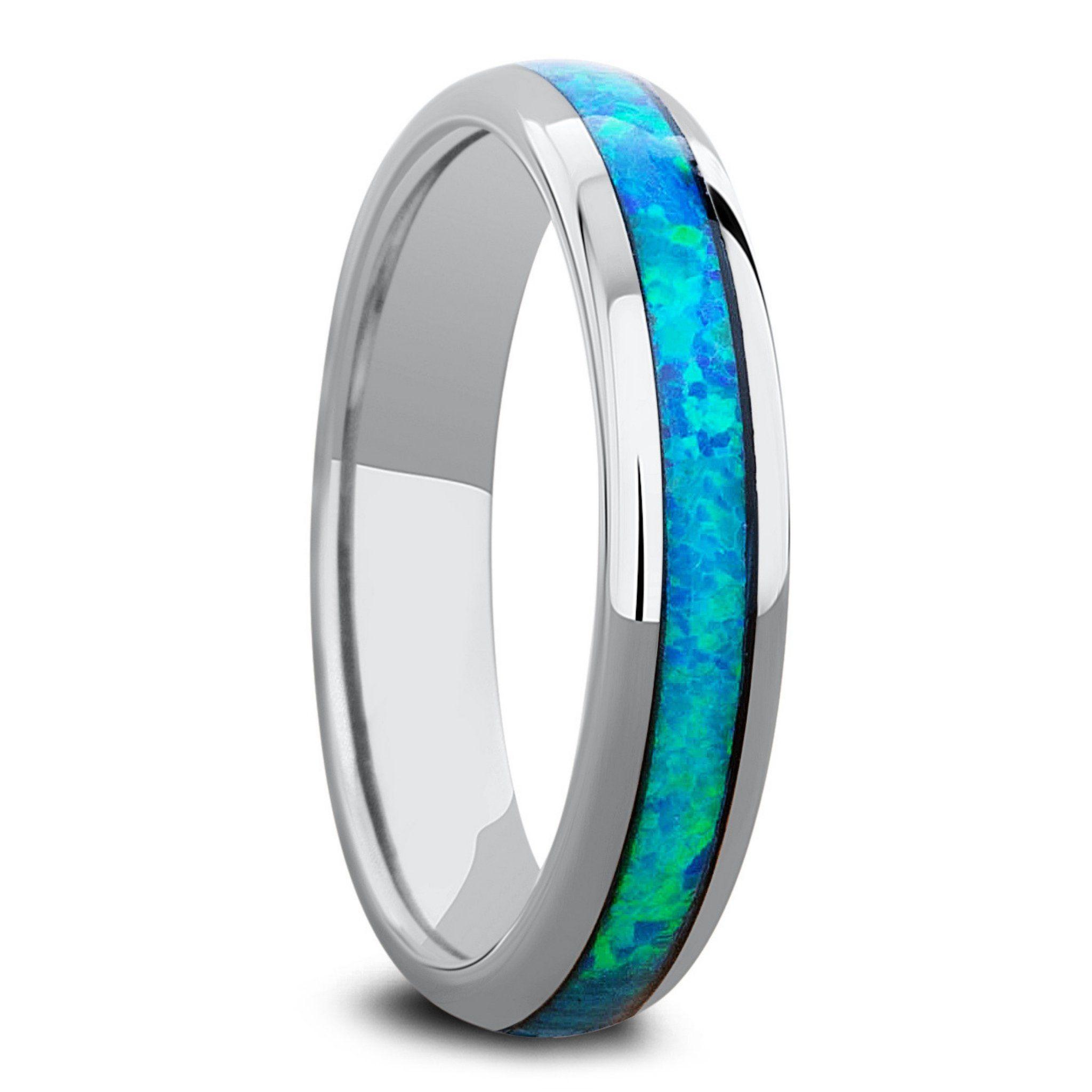 Opal Osprey in 2020 Opal, Womens wedding bands, Rings