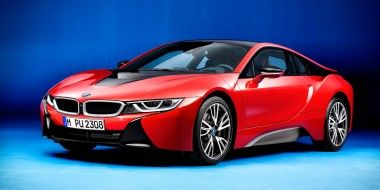 Bmw I8 Protonic Red Edition El Hibrido On Fire Autoescala