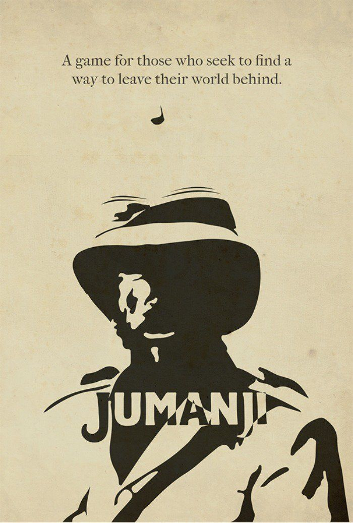 Jumanji (1995) Movie Posters Pinterest Robin williams - kleine k amp uuml che l form