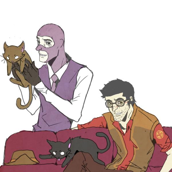 No3. The inevitable HeavyxMedic comicstrip. ...or perhaps more like HeavyxSandwich. Team Fortress 2 (c) Valve art (c) me