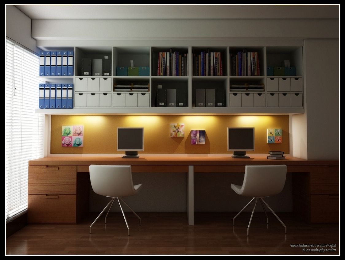 Classy Regard To Two Person Desk Home Office Then 1000 Ideas About Home Office Furniture On Pintere Modern Home Offices Ikea Home Office Office Interior Design