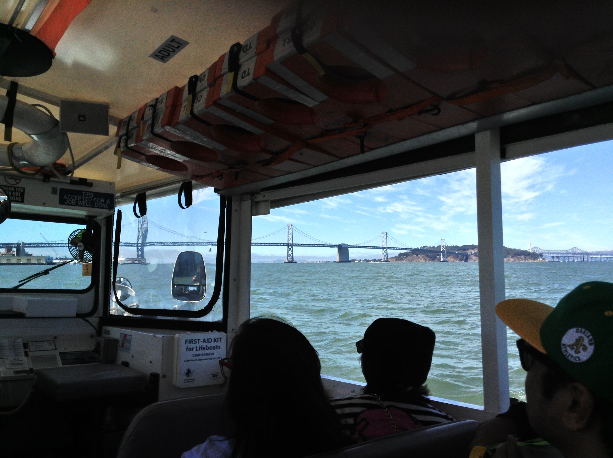 View of the Bay Bridge - taken from the Ride the Ducks Tour