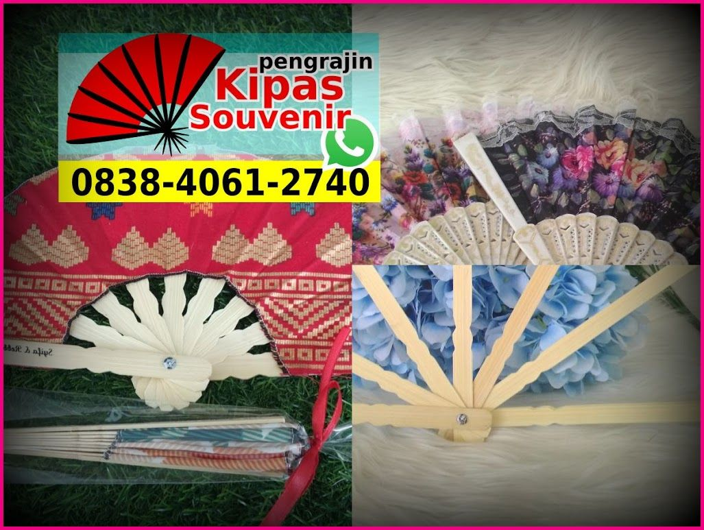 Cara Membuat Kipas Jepang Dari Bambu O838 4o61 274o Whatsapp Souvenir Hand Fan Batik