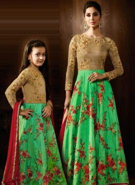 e3be7f2fec Custom Make Brides Maid Lehenga Choli for mother and daughter in ...