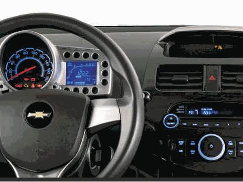 Interior Del Spark Gt Chevrolet Spark Spark Gt Autos