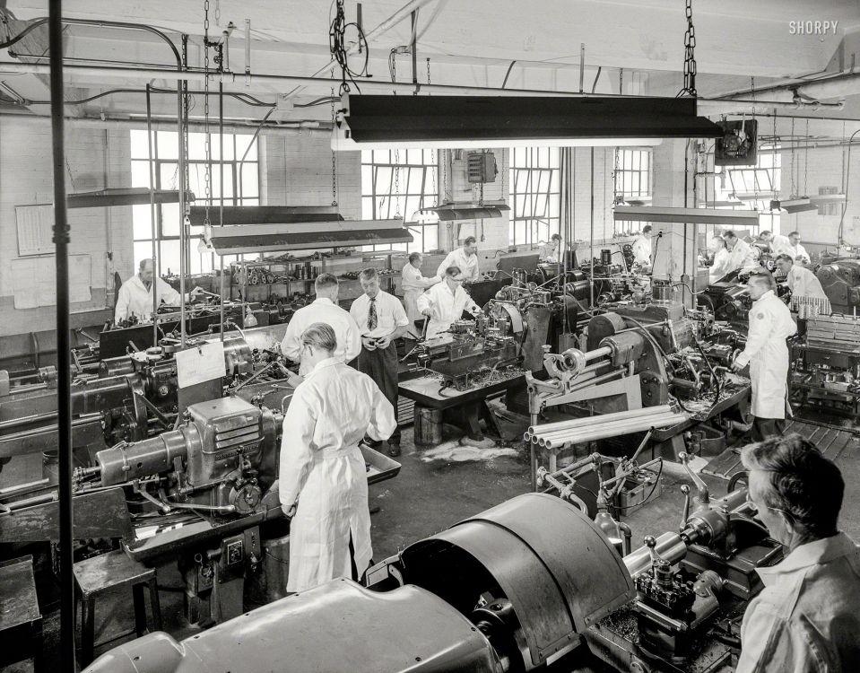 Machine shop shorpy historical photos machine shop